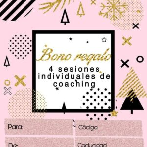 Gift voucher for 4 Coaching sessions